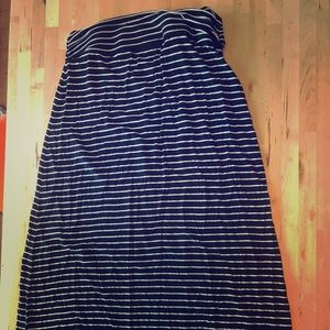 Jcrew cotton maxi skirt size small